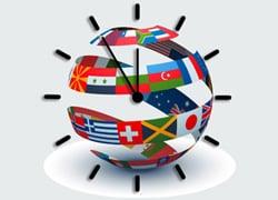 اختلاف ساعت دنیا