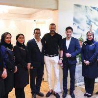 حضور جناب آقای علیرام نورایی در آژانس الیاد گشت