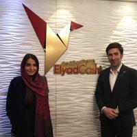 حضور سرکار خانم سمیرا حسن پور در آژانس الیادگشت